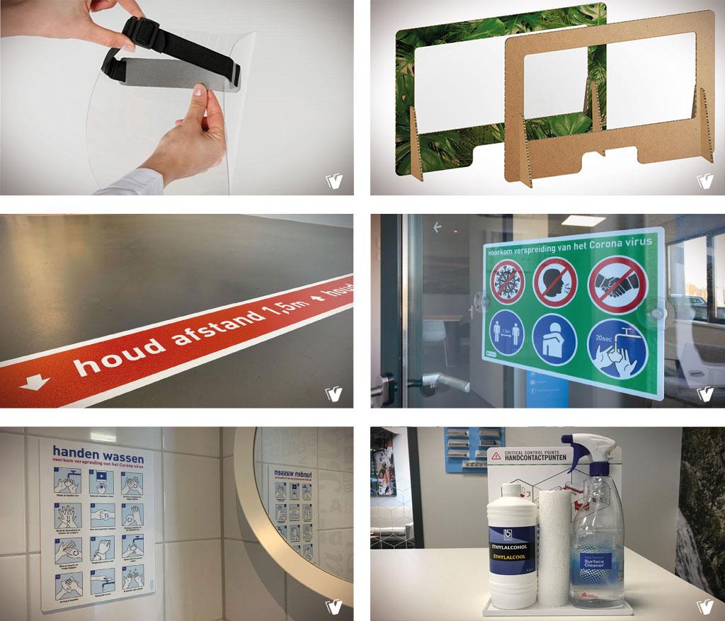 Preventiematerialen voor uw bedrijf
